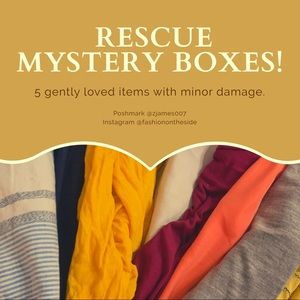 RESCUE MYSTERY BOX! 5 WOMENS ITEMS